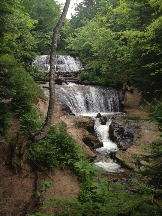 Upper Peninsula Waterfall - Emma