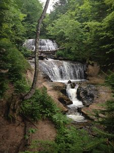 Upper Peninsula Waterfall