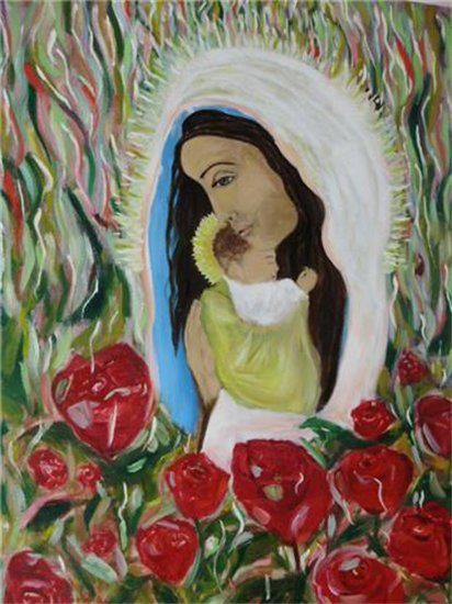 Mary of the Roses - Arthope
