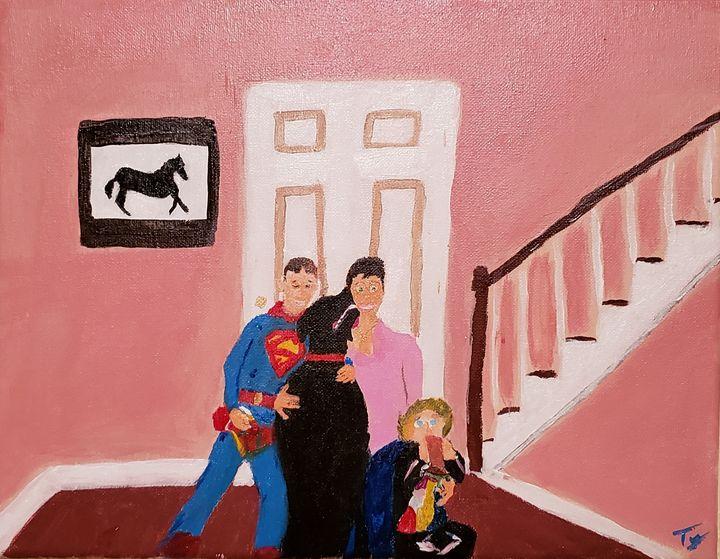 Family Portrait, 1994 - Ty Hall