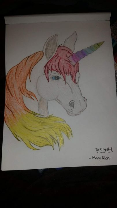 Rainbow Unicorn - Mary Rich