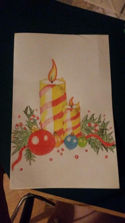 Christmas card - Mary Rich