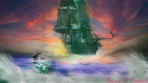 Pirate's of the Dead Sea