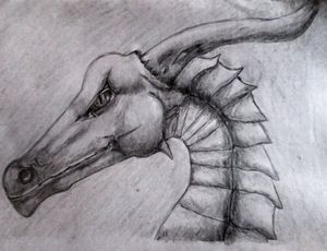 head of a dragon