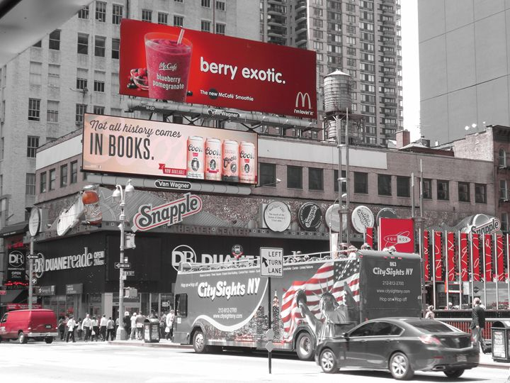 Red In New York City - Coutant-Walker