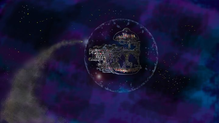 Space City - Edward Orquiz's Art