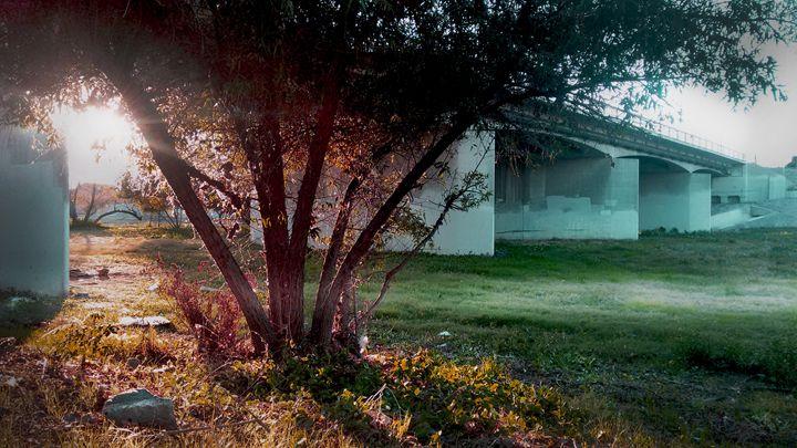 Under A Bridge - Edward Orquiz's Art