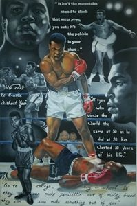 Tribute to Muhammad Ali - Marvin Teeples