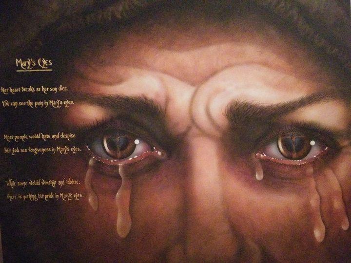 Mary's Eyes - Marvin Teeples