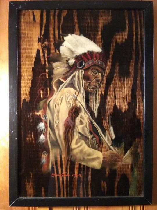 Indian Chief 2 - Marvin Teeples
