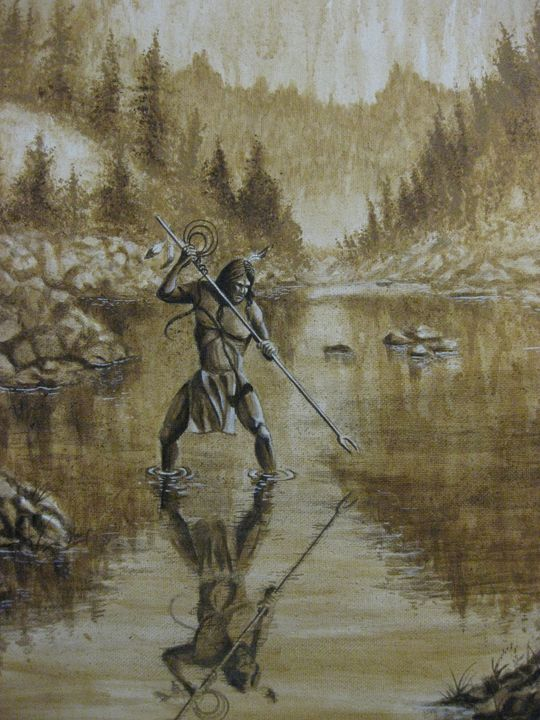 Indian Brave Spearfishing - Marvin Teeples