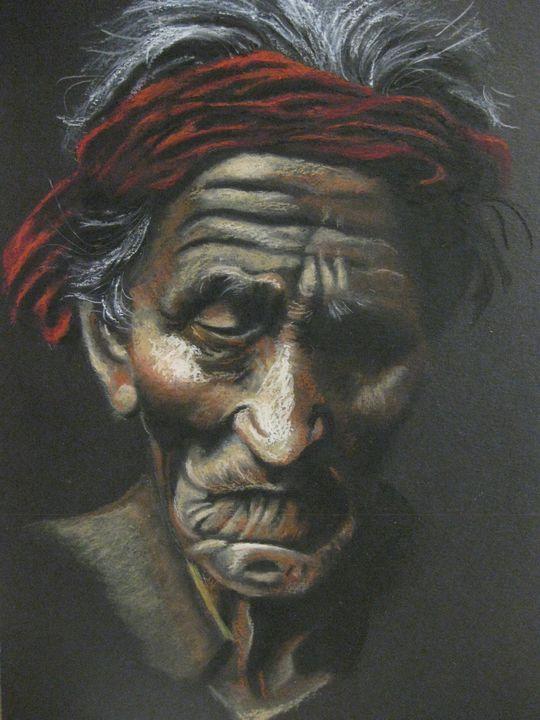 Navajo Elder - Marvin Teeples