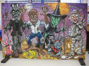Halloween Board - Marvin Teeples