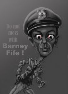 Don't mess with Barney Fife !