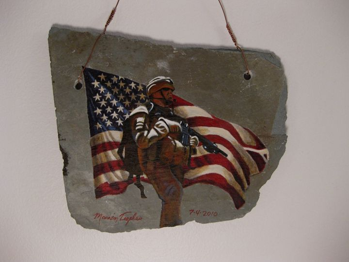 Salute to Our Troops - Marvin Teeples