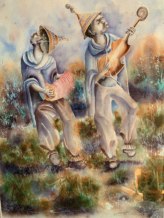 S. I. Hlatshwayo Soweto musicians - Joan Elion