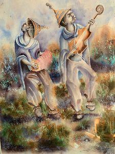 S. I. Hlatshwayo Soweto musicians