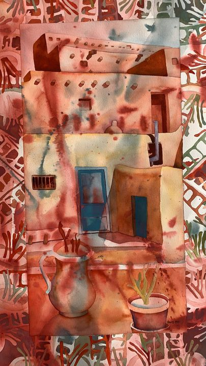 Patterns of Life - New Mexico #3 - Joan Elion
