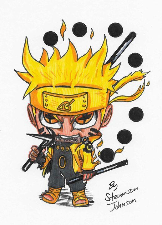 """6 Paths Sage Mode Naruto"" - Stevensonjohns"