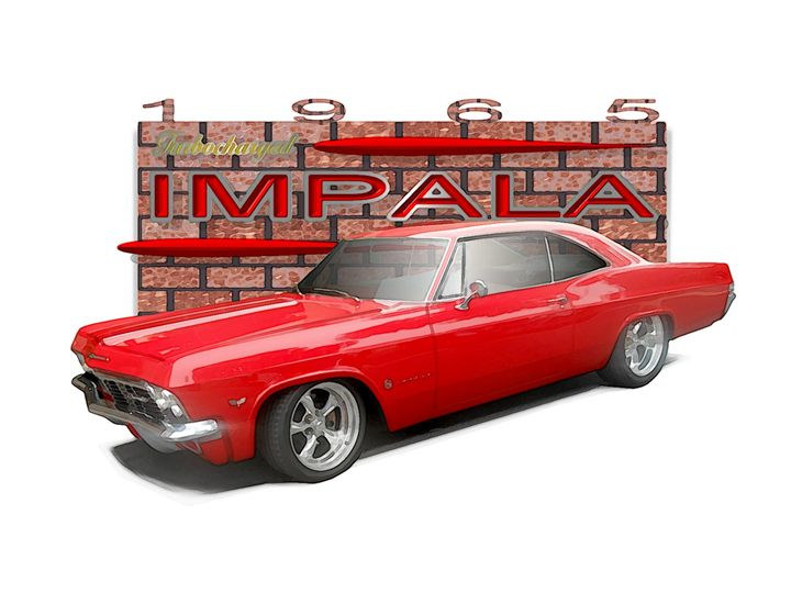 red '65 Impala - CAARsbyEmbo