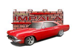 red '65 Impala