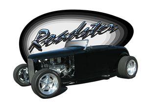 black '32 roadster