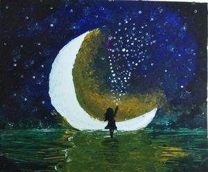 Half moon night