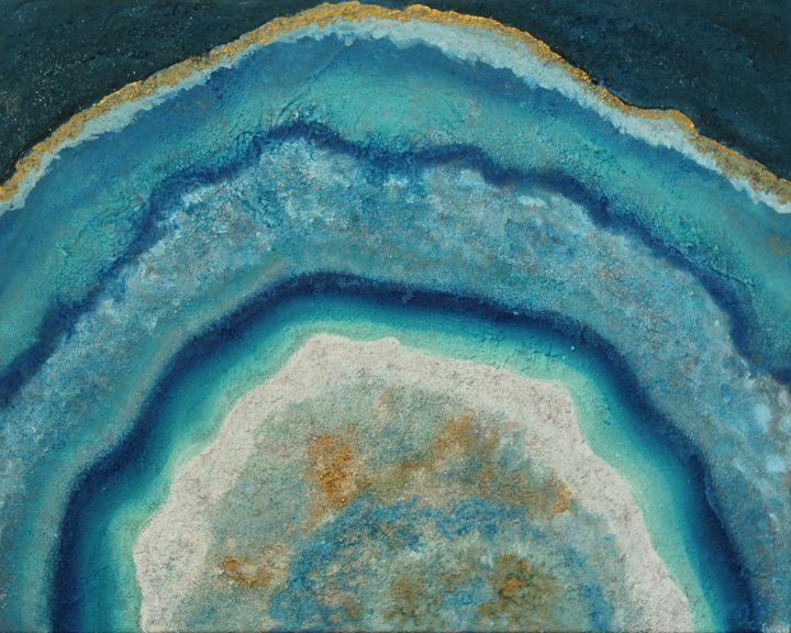 Geode series #2 - Krystal Gray