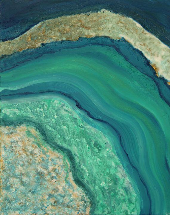 Geode Series #5 - Krystal Gray