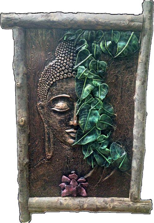 Clay Art Wall Painting