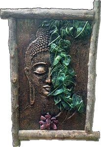 3D Buddha Mural/3D Painting/3D Clay
