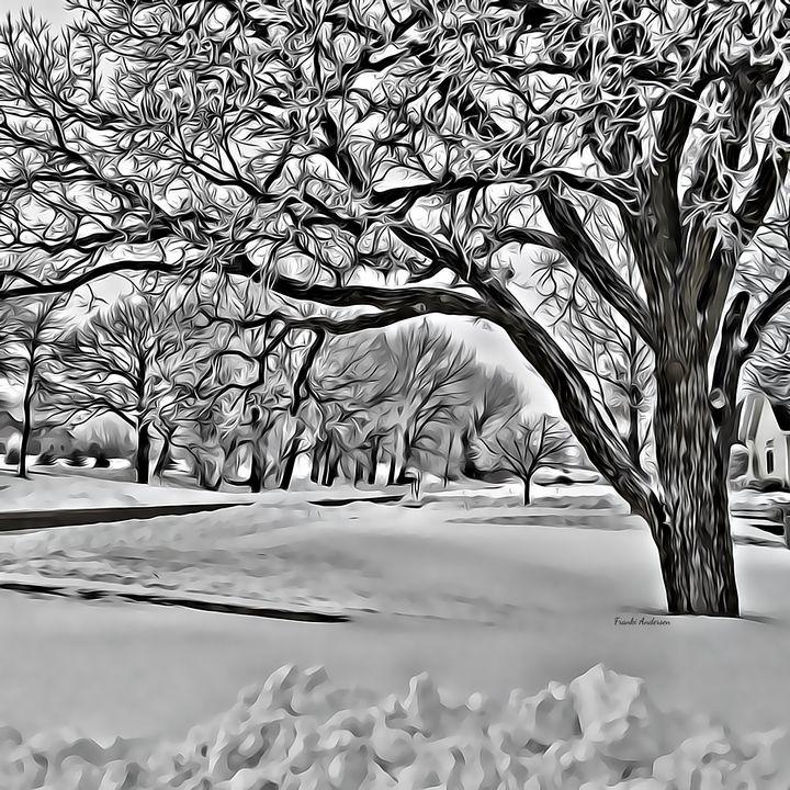 Blanketed In Snow - Franki Andersen