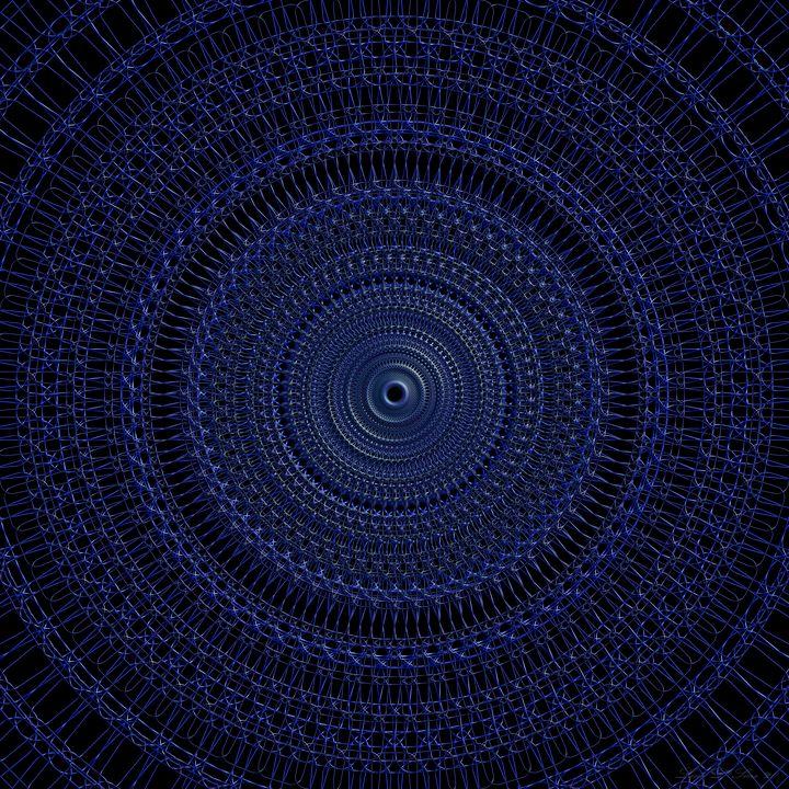 Blue Interlace - Line D'Sine