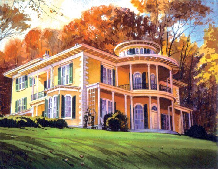 Aurora Mansion - philhopkinsfineart