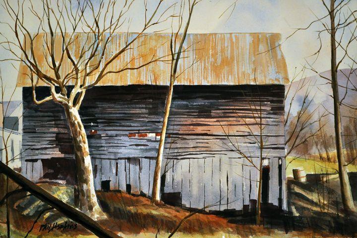 Vermont Barn - philhopkinsfineart