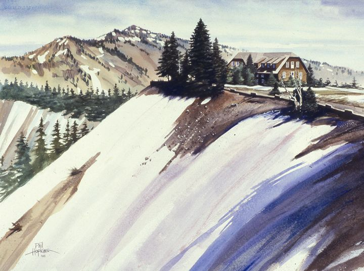 Crater Lake Nat. Park Lodge - philhopkinsfineart