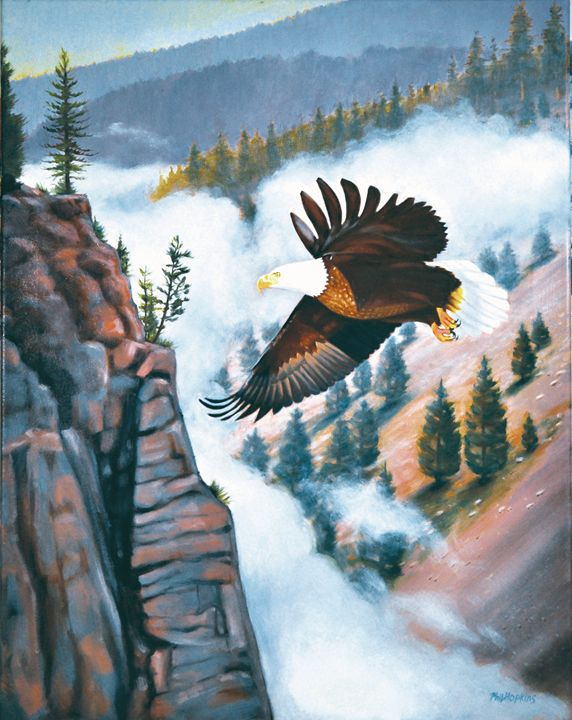 Eagles Flight - philhopkinsfineart
