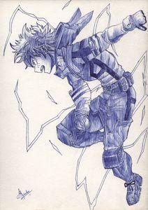 Midoriya Izuku Ballpen Sketch