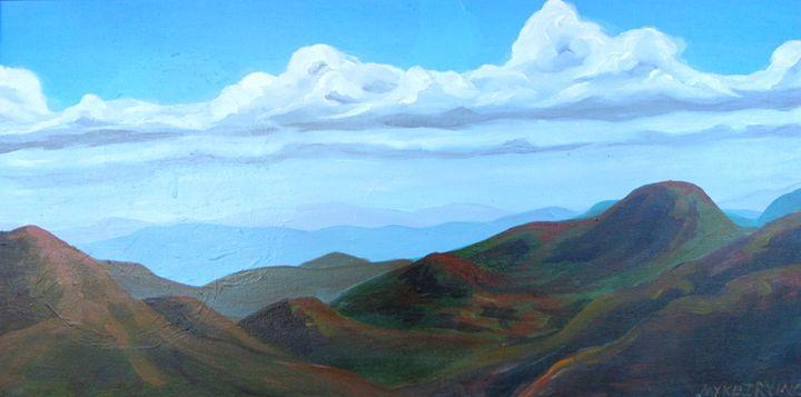 Appalachian mountain peaks - myke irving