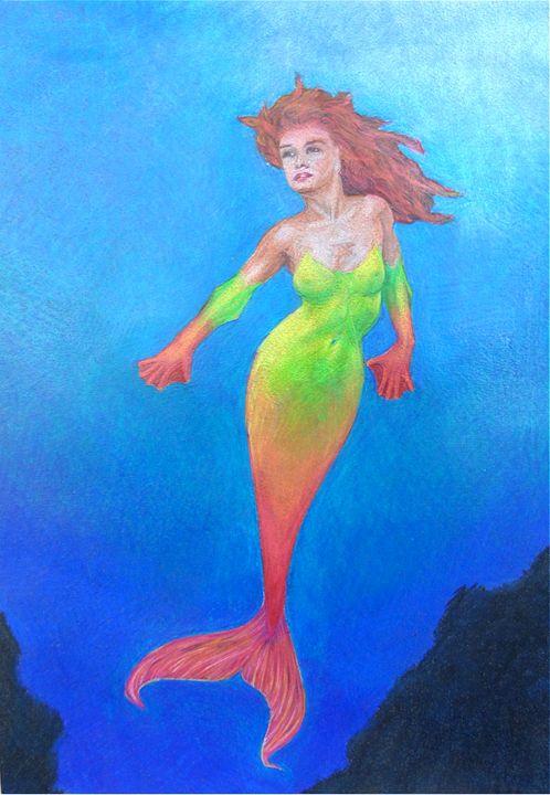 the mermaid - myke irving