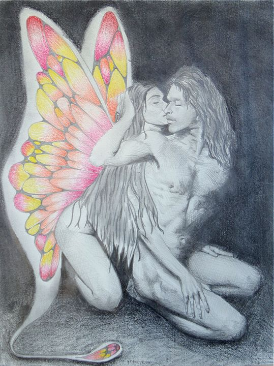 Fairy loves embrace - myke irving