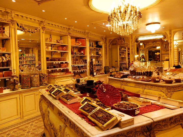 Chocolate shop - Margaret LN Brooks