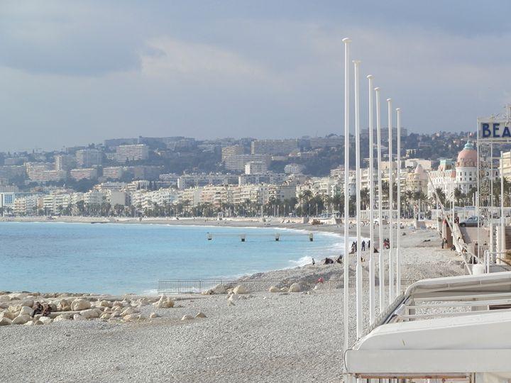 Scenic view of Nice Beach - Margaret LN Brooks