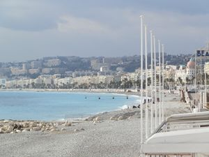 Scenic view of Nice Beach