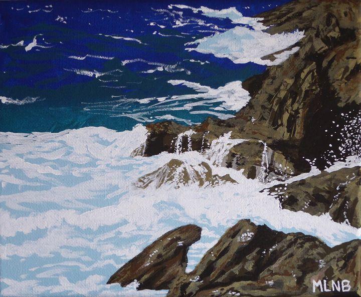 Coastal Falls - Margaret LN Brooks