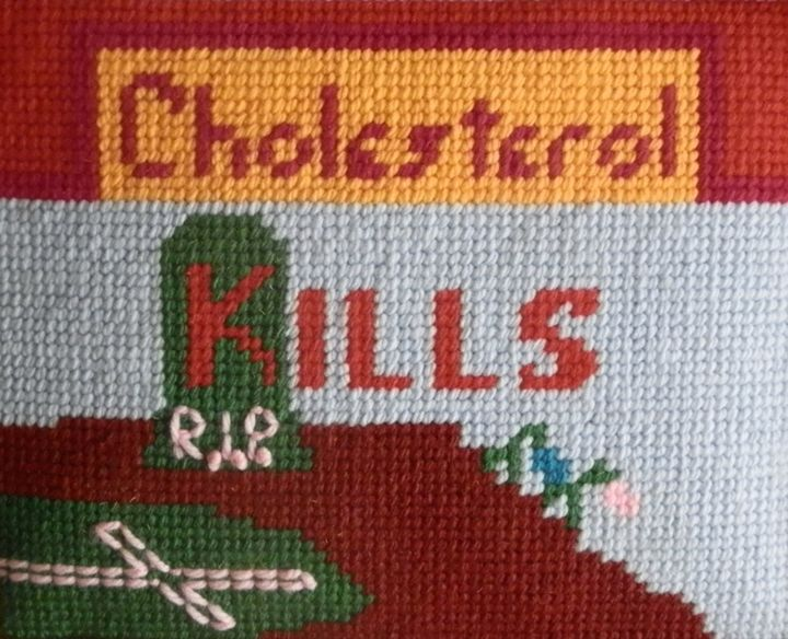 Cholesterol kills - Margaret LN Brooks