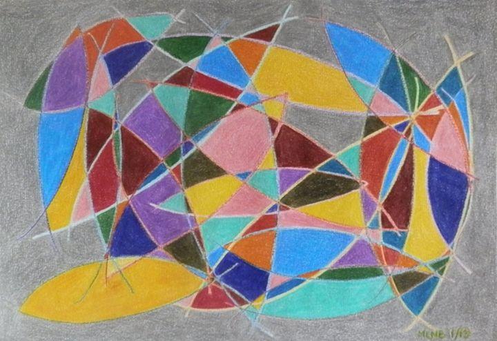 Arcs Catching Color - Margaret LN Brooks