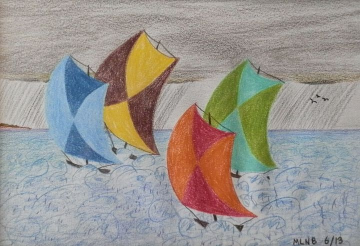 Sails in Stormy Weather - Margaret LN Brooks
