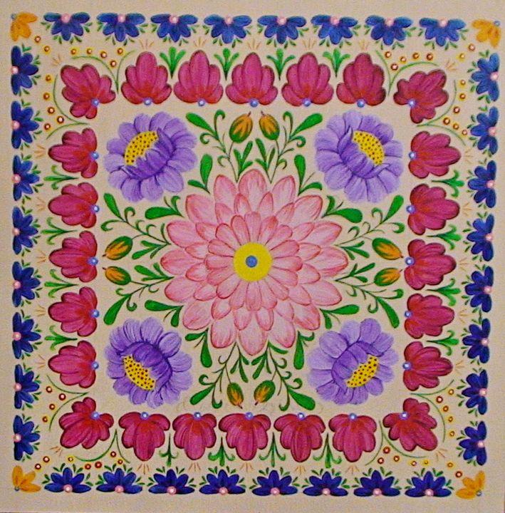 Flower square - Oleksandr Samohval