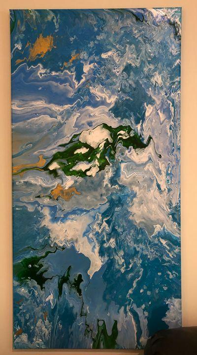 Original acrylic - Amanda E. Bryant